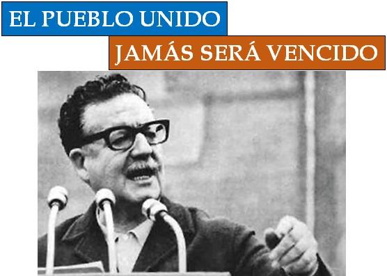 En solidaridad con el pueblo de Lautaro, Parra, Jara y Neruda