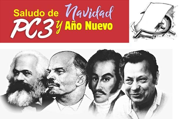 Saludo de Navidad y Año Nuevo del Partido Comunista Clandestino de Colombia
