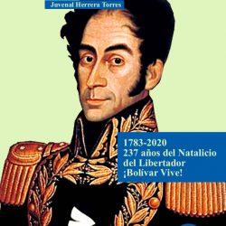 En memoria del Libertador Simón Bolívar 1783-2020