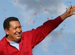 Una flor roja para Chávez