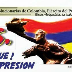 S.O.S. ¡Basta Duque! ¡No más represión!