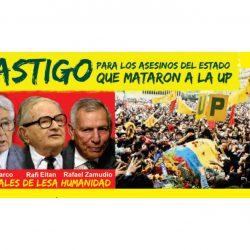 Castigo para los asesinos del Estado que mataron a la UP